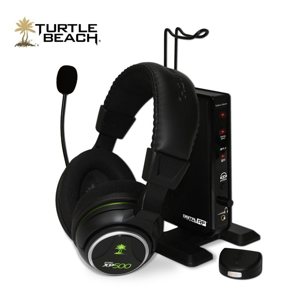 Turtle Beach S Xp500 Headset Brings Totally Wireless 7 1 To The Xbox 360 Px5 Is Mildly Jealous