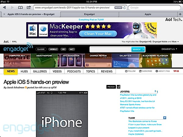 Apple iOS 5 hands-on preview | Home of Hip Hop Videos ...