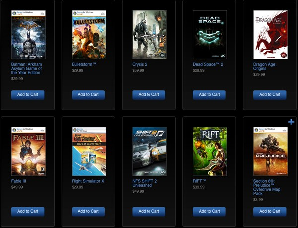 games for windows marketplace xbox com becoming one big game