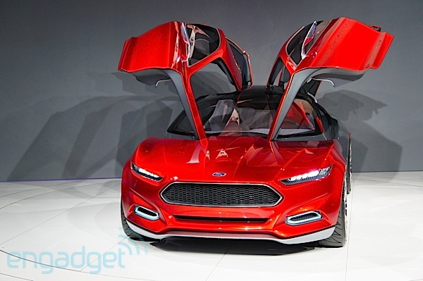 Ford Evos Cloud Connected Concept Car Unveiled At Frankfurt
