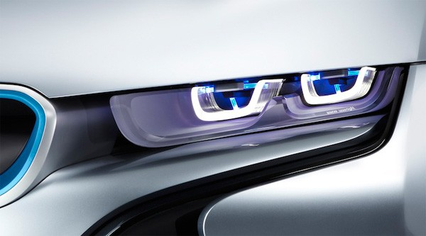 BMW developing laser headlights officially over LEDs