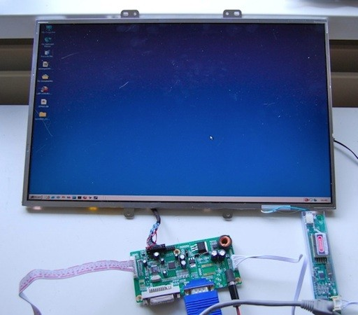 How to turn a spare LCD panel into a working monitor for ...