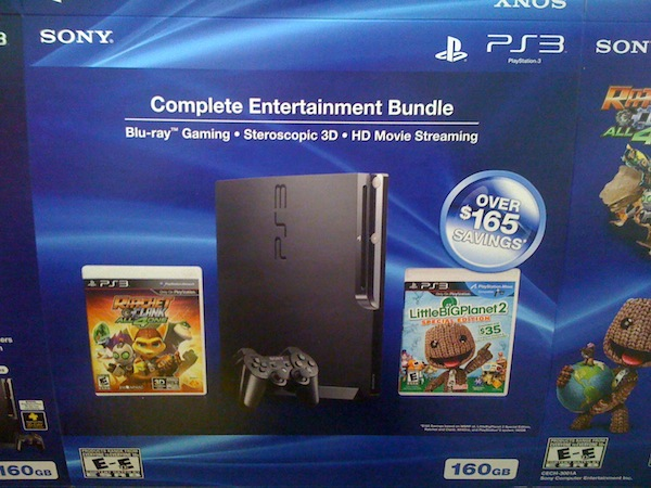 New PS3 and PS Move bundles leaked by box manufacturer