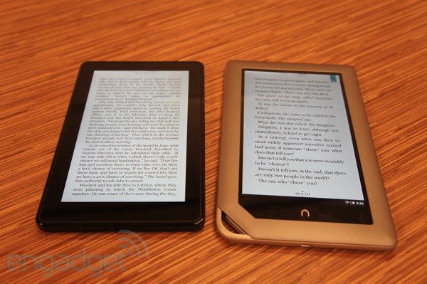 Kindle Vs Sony Reader: Kindle Fire Vs. Nook Tablet...fight