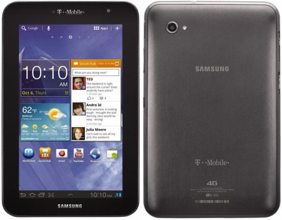 T-Mobile to carry Samsung Galaxy Tab 7 0 Plus with 4G