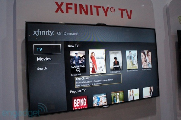 Samsung shows off integrated TV streaming apps and DirecTV RVU    again