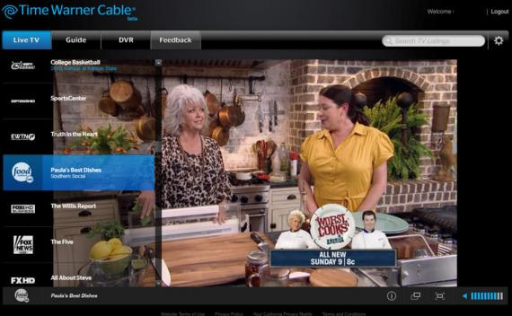 Time Warner Cable\u0027s TWC TV launches for PC, brings live TV streaming