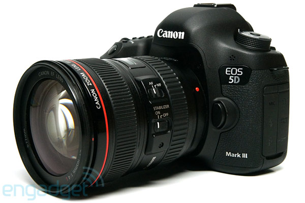 Canon 5D Mark III now captures 24fps RAW video thanks to Magic Lantern firmware add-on