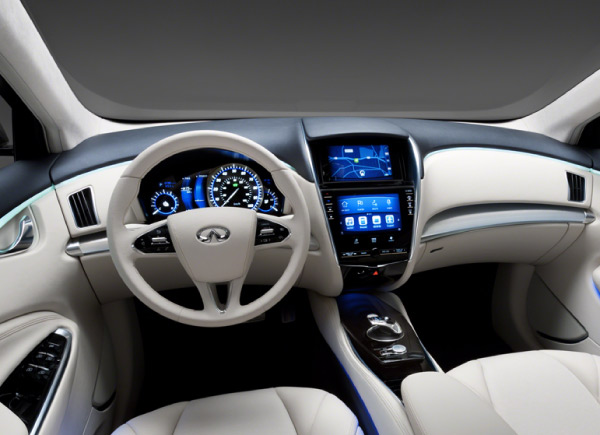 Intel And Nissan Collaborate On Infiniti S 2013 Infotainment System