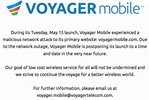 Voyager Mobile endures 'malicious network attack,' delays ...