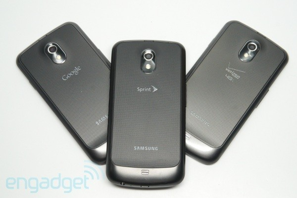 sprint galaxy nexus review rh engadget com Sprint 4G Used Sprint Galaxy Nexus