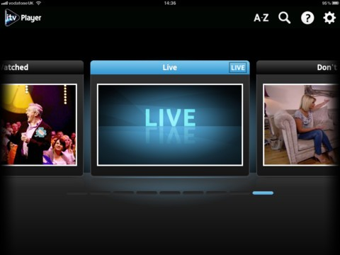 ITV Player 2.0 brings live streams of the UK broadcaster's TV channels to iOS