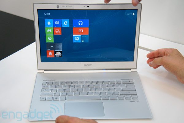 Acer announces Aspire S7 Ultrabook series with 116 and 133inch touchscreens