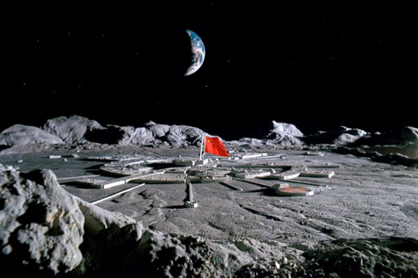 Image result for china on moon