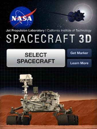 NASA launches Spacecraft 3D app for iOS, lets you explore ...