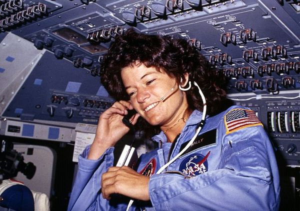 who was first american astronaut in space - photo #14