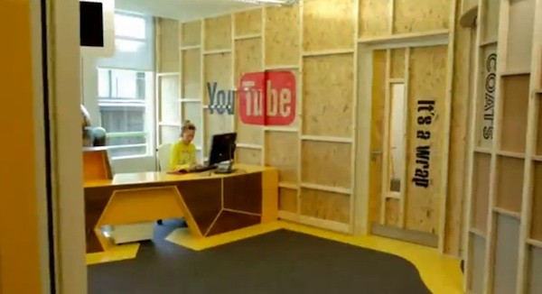 office space you tube. google shows off creator space in london, hopes to foster more professional youtube videos office you tube \