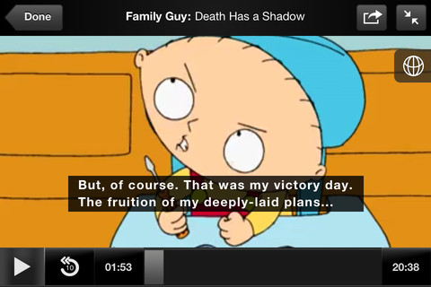 Hulu Plus, HBO Go and Max Go apps for iOS updated with closed caption support