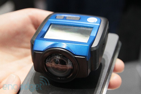 Ion The Game action cam has built-in WiFi and 2.5-inch display, we ...
