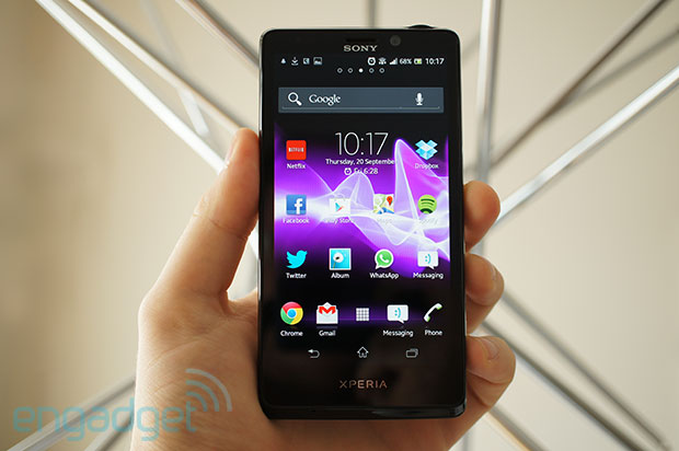 Sony Xperia T review The new smartphone flagship that isn't quite new enough