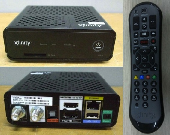 Humax's take on an IP-connected TV box for Comcast passes through