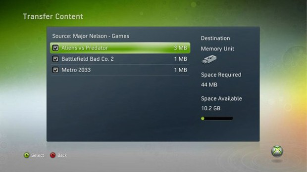 Xbox 360 USB storage quietly doubled from 16GB to 32GB in latest dashboard update