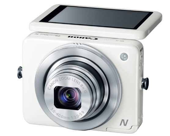 DNP Canon reinvents the pointandshoot with ambidextrous PowerShot N