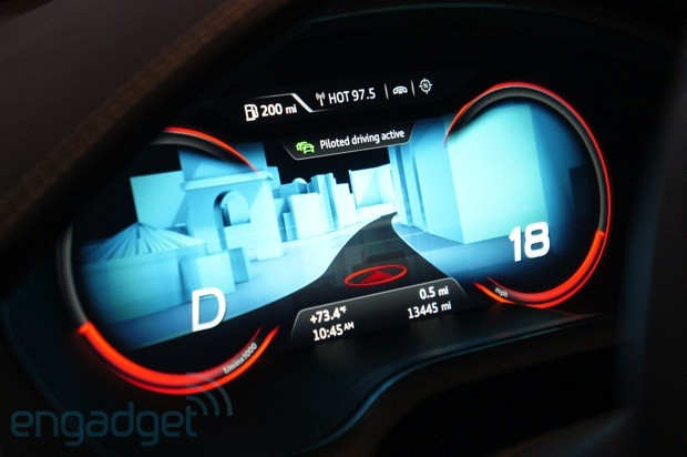 Audi Piloted Driving >> Audi Shows Off Piloted Driving Video