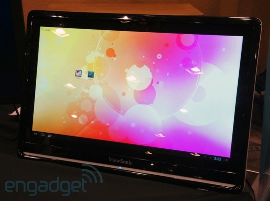 ViewSonic unveils VSD240 smart display running Android 4.1 ...