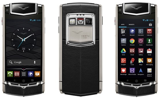 Vertu's first Android smartphone costs 7,900, admits to falling short of 'bleeding edge'
