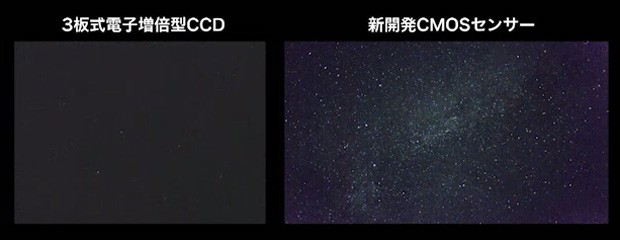 Canon sensor records video in very low light sees movie stars of a different sort & Canon sensor records video in very low light sees movie stars of a ...