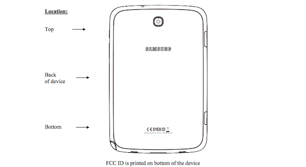 samsung galaxy note 8 0 3g arrives at the fcc remains a. Black Bedroom Furniture Sets. Home Design Ideas