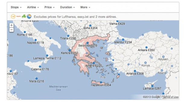 google flight search reaches france italy the. Black Bedroom Furniture Sets. Home Design Ideas