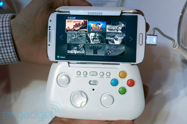 Samsung Galaxy S4 gaming controller
