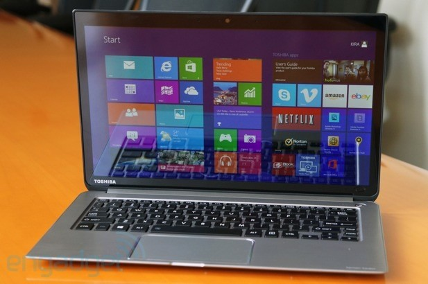 Toshiba's Kirabook rocks a 2,560 x 1,440 display, arrives May 4th for $1,600 (hands-on)