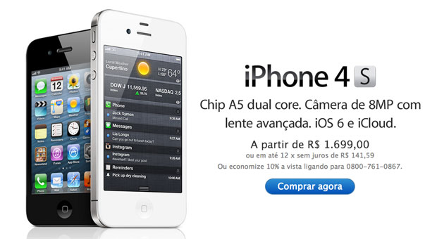 Apple Brazil Makes Substantial Price Cuts On IPhone 4 And 4S