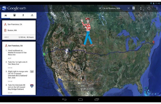 Google Earth 7.1 for Android introduces Street View and ...