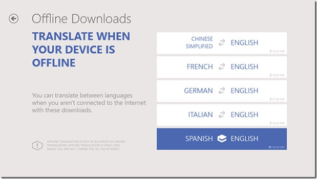Bing Translator App Comes To Windows 8 With Offline Support