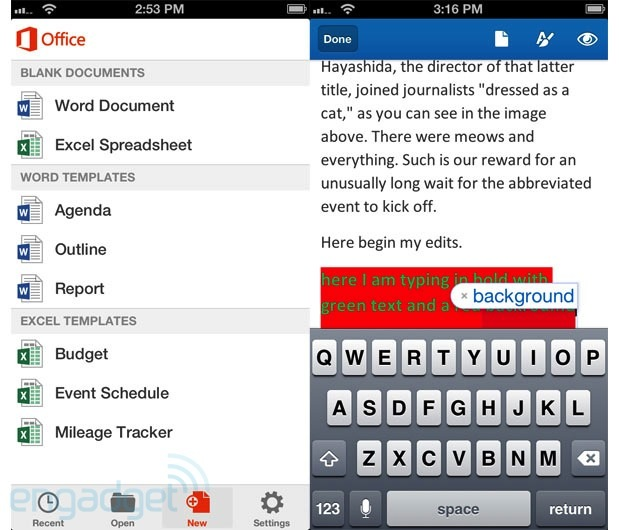Microsoft releases Office for iPhone, available now for Office 365 subscribers only handson
