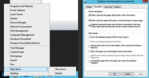 Windows 8 1 Start button makes cameo in Server 2012 R2 Preview