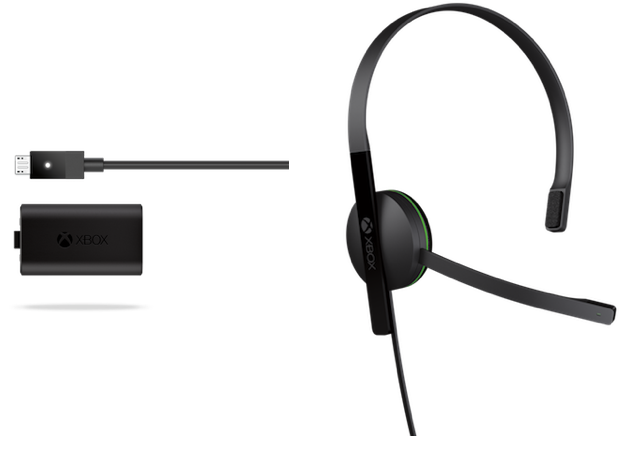 Microsoft lists new Play and Charge Kit, Chat Headset for Xbox One