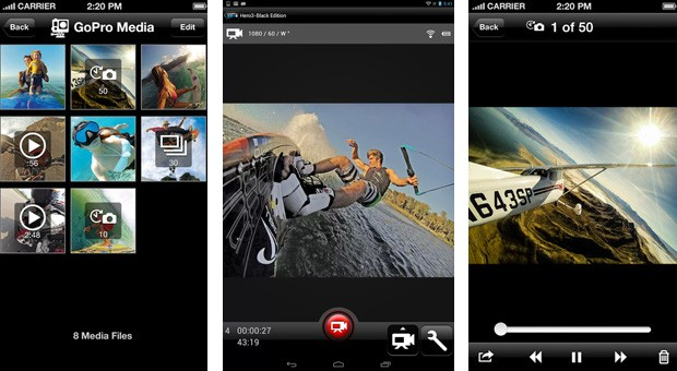 GoPro App 2 0 lets action cam owners save and share their