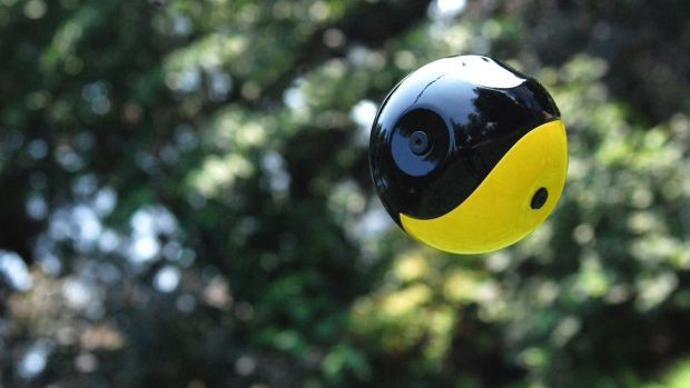 DNP Introducing Squito, a selfstabilizing throwable camera
