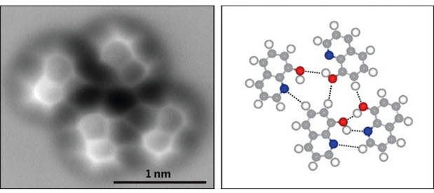 Visualized a hydrogen bond seen for the first time
