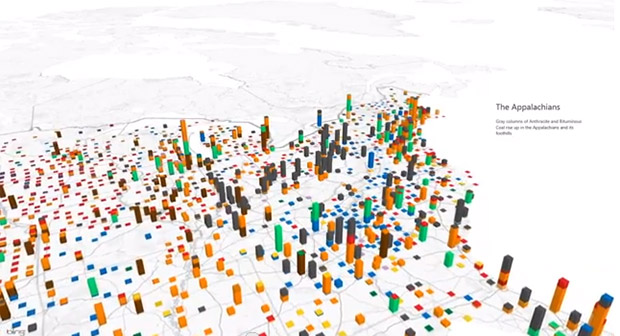 Excels Power Maps Take Bar Graphs To Some New And Mildly - Excel chart map of us