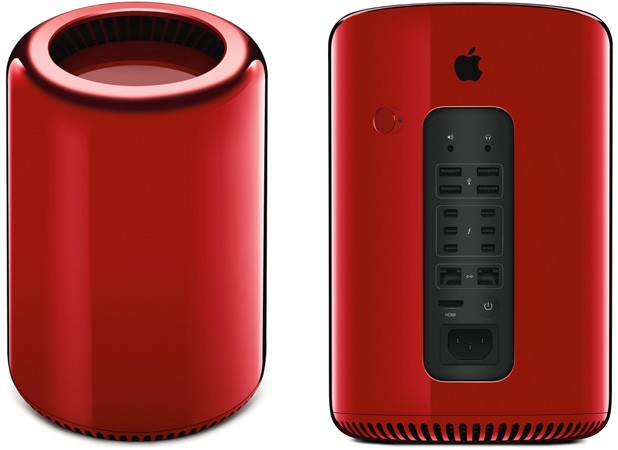 Apple to auction custom red Mac Pro for charity