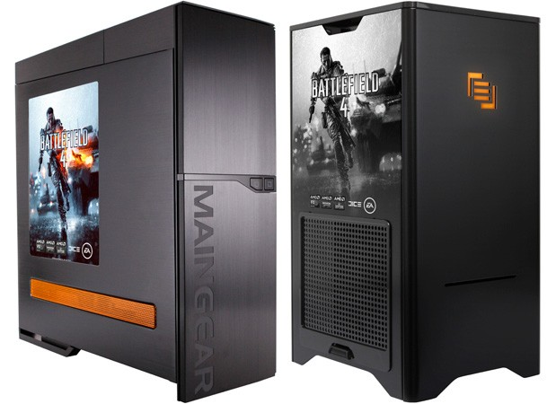 Maingear rolls out battlefield 4-themed gaming pcs with radeon r9.