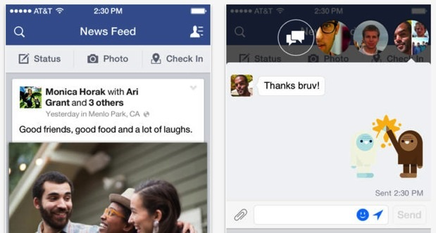 DNP Facebook for iOS update lets you edit posts, add photos to comments