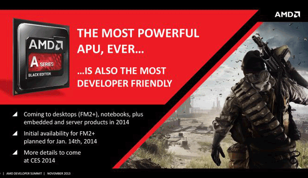 AMD's next desktop chip lands in January, merges CPU and GPU like never before