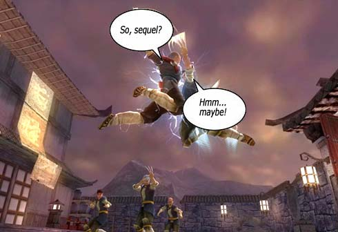 Jade empire what sex in game